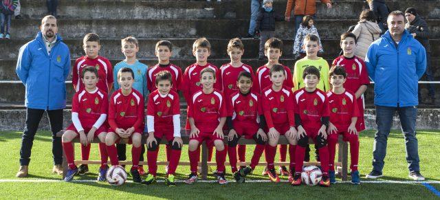 Tercer puesto del Amaya B-Tu Jardín de Futbol 8