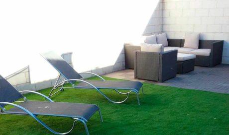 Patio-terraza en Castejón