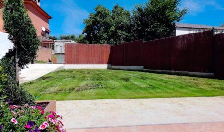 Remodelación integral de jardín en Elcano
