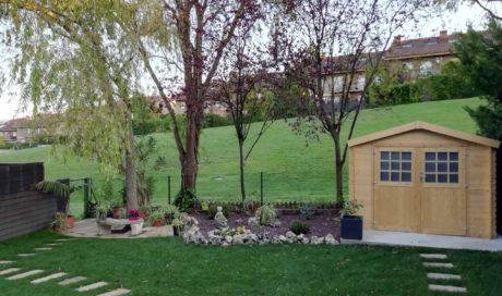 Renovación integral de jardín en Gorráiz