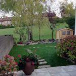 Vista general de jardín