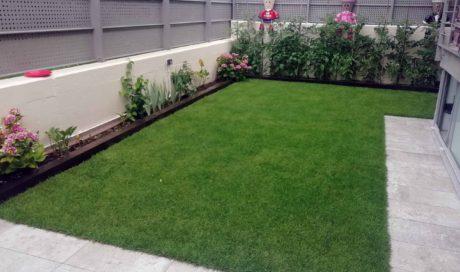 Jardín en bajo de Sarriguren